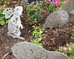 STAINLESS STEEL GARDEN ART